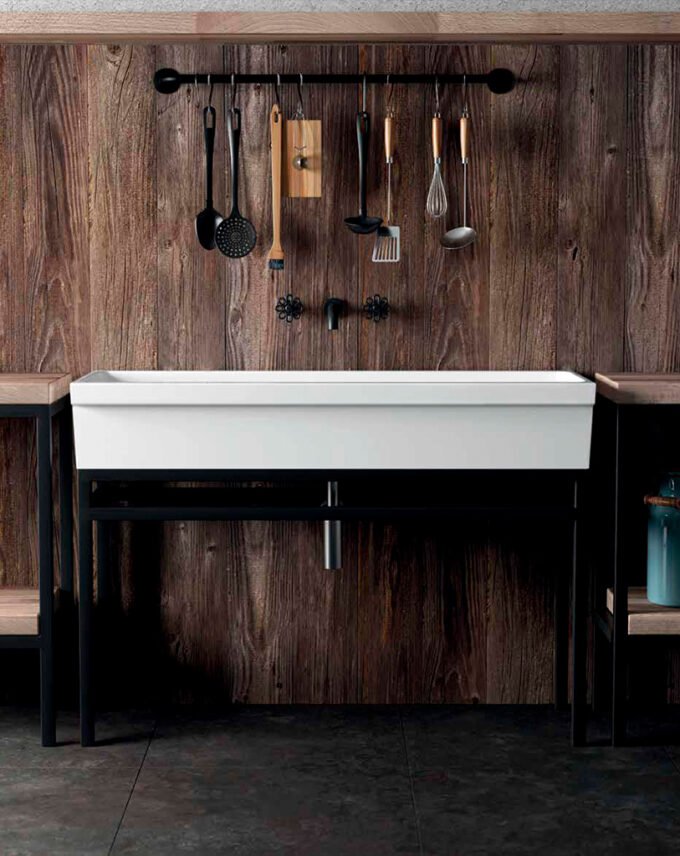 Lavabo a canal Ninive by Galassia