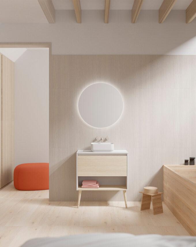 El mueble de baño NARA